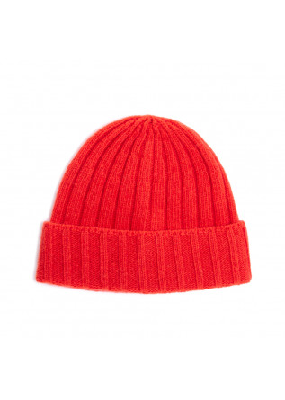 men's beanie wool & co orange