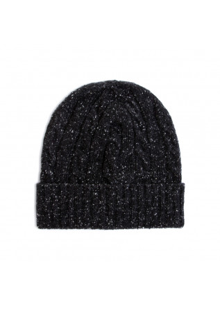 men's beanie wool & co black