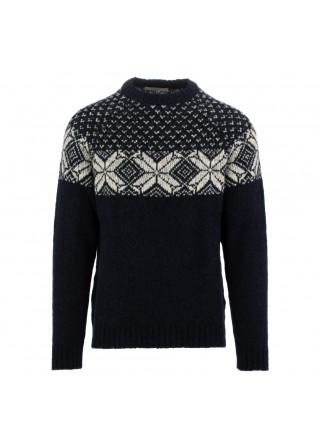 maglione uomo wool & co blu