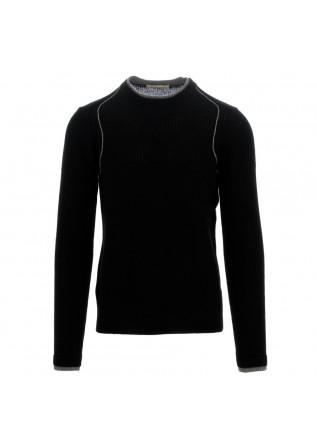 maglione uomo wool & co nero grigio