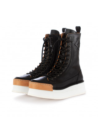 "WOMEN'S BOOTS BNG REAL SHOES | ""LA ROCK"" BLACK"