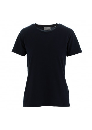women's t-shirt colorful standard blue navy
