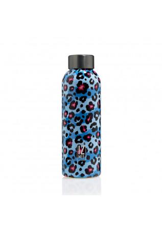 water bottle izmee fluo pard light blue