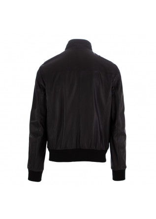 MEN'S LEATHER JACKET STEWART | BLACK