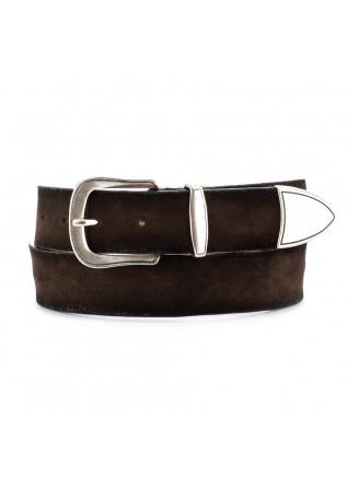 cintura in pelle unisex dandy street cn11 marrone