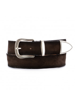 unisex leather belt dandy street cn11 brown