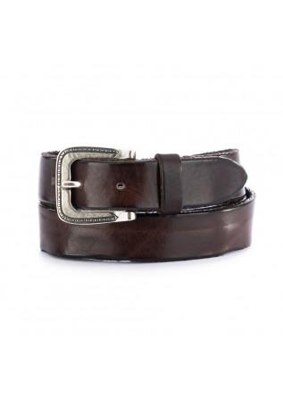 cintura in pelle unisex dandy street cn3 marrone