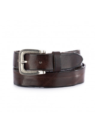 unisex leather belt dandy street cn3 brown