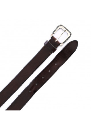UNISEX LEATHER BELT DANDY STREET | CN3 BROWN