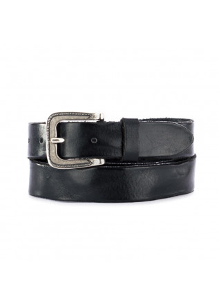 UNISEX LEATHER BELT DANDY STREET | CN3 BLACK
