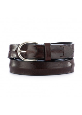 unisex leather belt dandy street cn21 brown