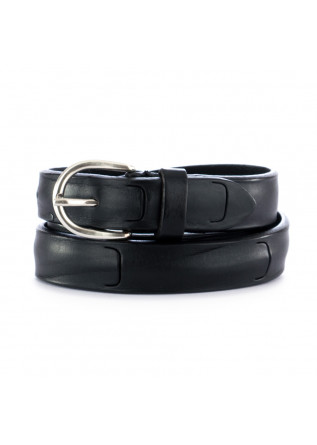 UNISEX LEATHER BELT DANDY STREET | CN21 BLACK
