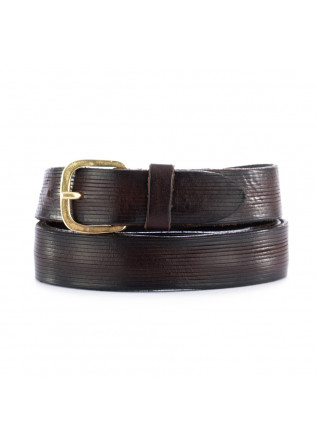 UNISEX LEATHER BELT DANDY STREET | CN2 BROWN