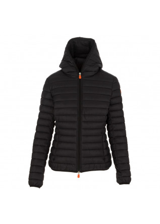 women's puffer jacket save the duck giga12 black