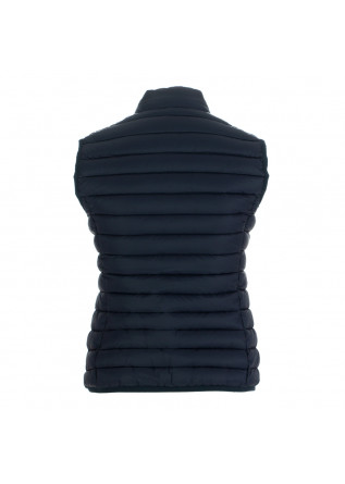 WOMEN'S PUFFER VEST SAVE THE DUCK | GIGA12 BLUE
