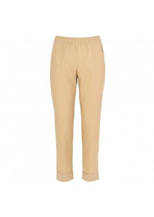 pantaloni donna semicouture beige