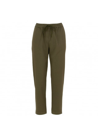 women's pants semicouture military green