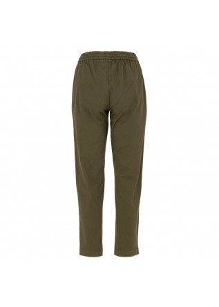 PANTALONI DONNA SEMICOUTURE | Y1SO09 S85-0 VERDE MILITARE