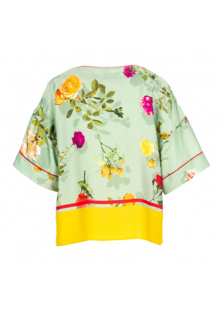 WOMEN'S SHIRT SEMICOUTURE | Y1ST32 21VAR GREEN