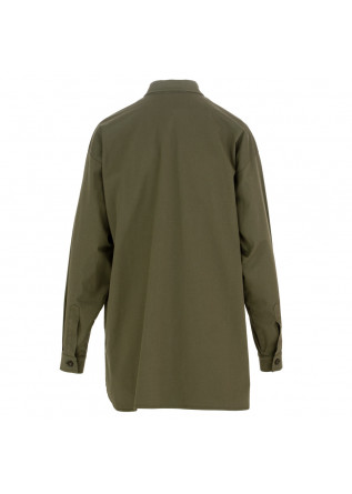 WOMEN'S SHIRT SEMICOUTURE | Y1SO01 S85-0 MILITARY GREEN
