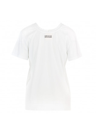 T-SHIRT DONNA SEMICOUTURE | Y1SJ10 A01-0 BIANCO