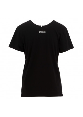 T-SHIRT DONNA SEMICOUTURE | Y1SJ10 Y69-0 NERO