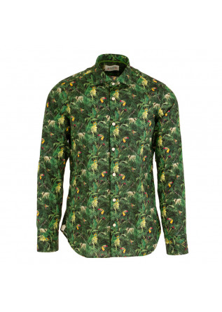 camicia uomo tintoria mattei 954 jungle