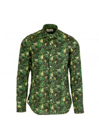 men's shirt tintoria mattei 954 jungle