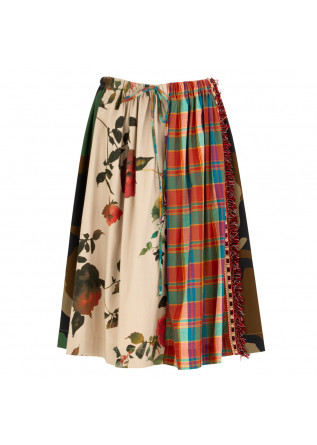 WOMEN'S SKIRT SEMICOUTURE | Y1SR21 CAMP MULTICOLOR