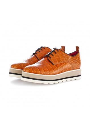 scarpe stringate donna caterina c marrone