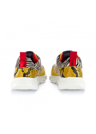 WOMEN'S SNEAKERS CATERINA C | 906 40 ICE ZEBRA YELLOW PLATINUM