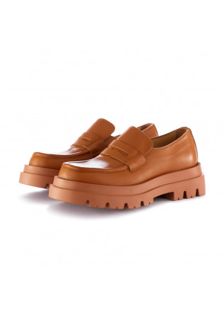 women's loafers lemare brown