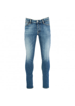 men's jeans care label blue denim