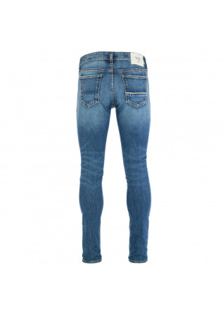 MEN'S JEANS CARE LABEL | BODIES 215 NIMEGA BLUE WASHED