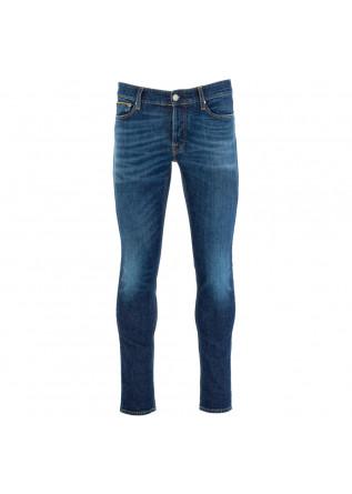 jeans uomo care label blu scuro
