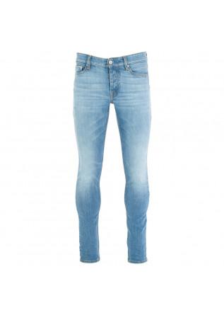 jeans uomo care label azzurro