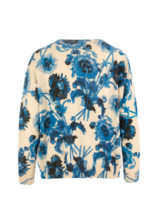 WOMEN'S SWEATER IN BED WITH YOU | HB16  COL.242 BEIGE BLUE