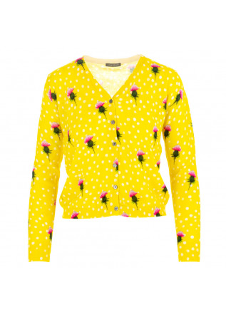 women's cardigan in bed with you yellow