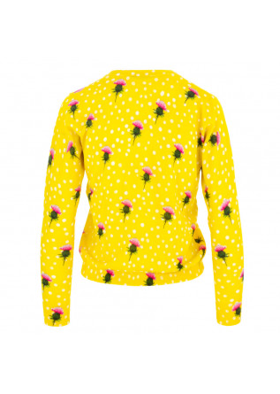 CARDIGAN DONNA IN BED WITH YOU | HB12 COL.227 GIALLO