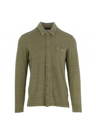 camicia uomo daniele fiesoli verde salvia