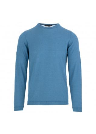 men's sweater daniele fiesoli light blue