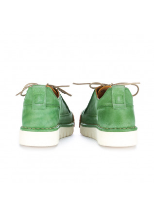 "MEN'S FLAT SHOES BNG REAL SHOES | ""LA MENTA"" GREEN"