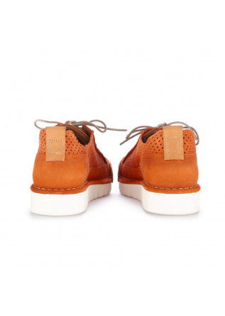 "MEN'S FLAT SHOES BNG REAL SHOES | ""LA CLEMENTINA"" ORANGE"
