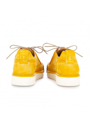 "MEN'S FLAT SHOES BNG REAL SHOES | ""LA BIONDA"" YELLOW"