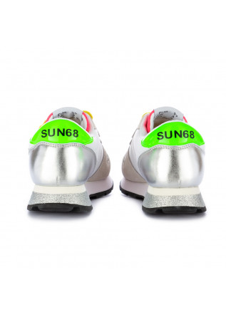 SNEAKERS DONNA SUN68 | Z31210 ALLY STAR GLITTER BIANCO