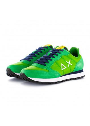 sneakers uomo sun68 verde prato