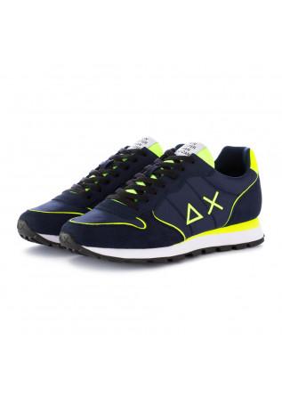 herren sneakers sun68 tom nylon fluo blau gelb