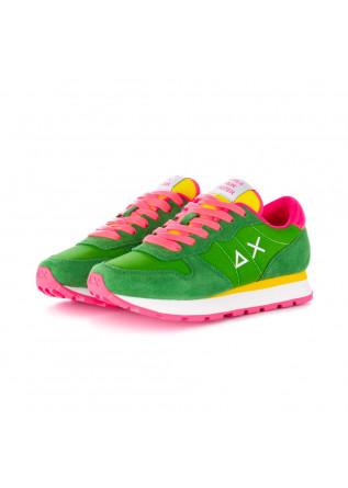 sneakers donna sun68 verde prato