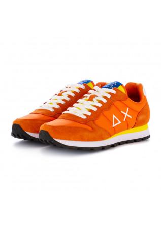 men''s sneakers sun68 orange