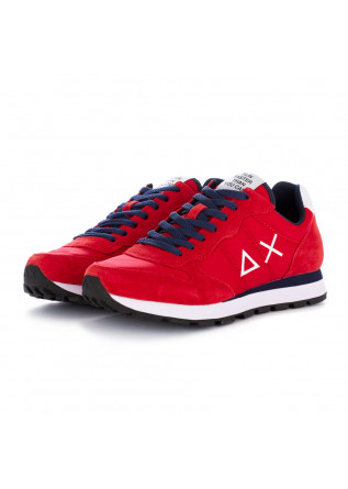 men''s sneakers sun68 red